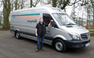 DairyFlow chemicals and supplies van