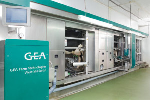 The MIone automatic milking parlour from GEA Farm Technologies