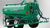Houle Slurry spreaders are available from DairyFlow