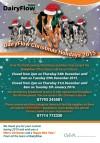 DairyFlow Christmas Holidays 2015