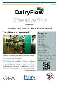DairyFlow newsletter Summer 2012