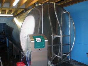 TCool tank installed by DairyFlow at Rossiebank