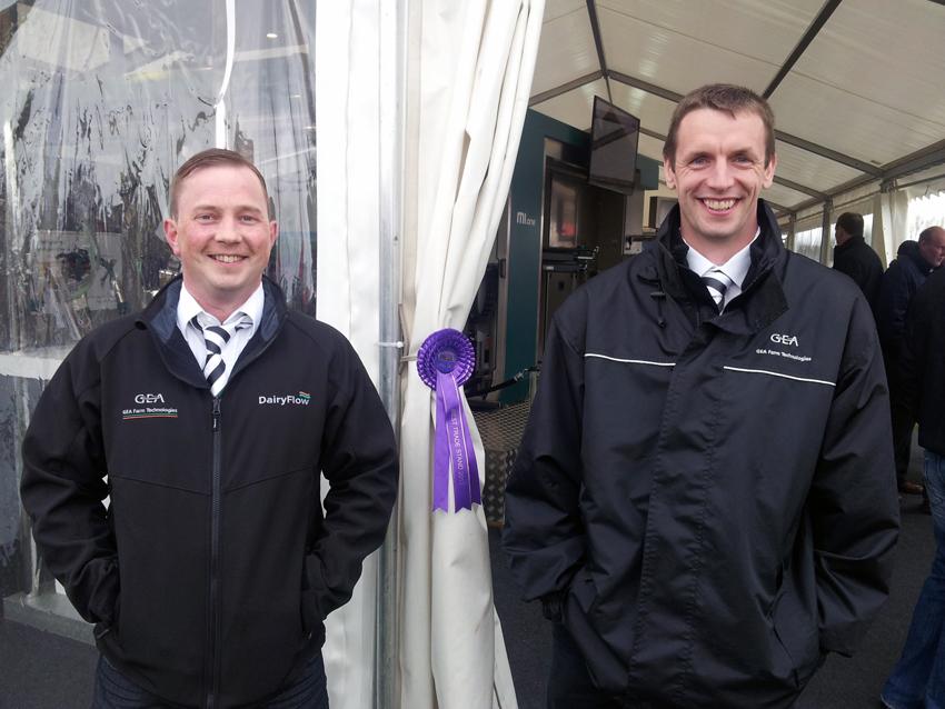 DairyFlow won best trade stand at Ayr Show 2013