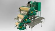 Houle slurry separator available from DairyFlow