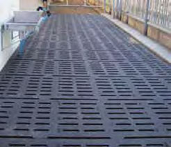 Kura S hoof-friendly and slip-resistant cover for slatted floors from Kraiburg, supplied and fitted by DairyFlow